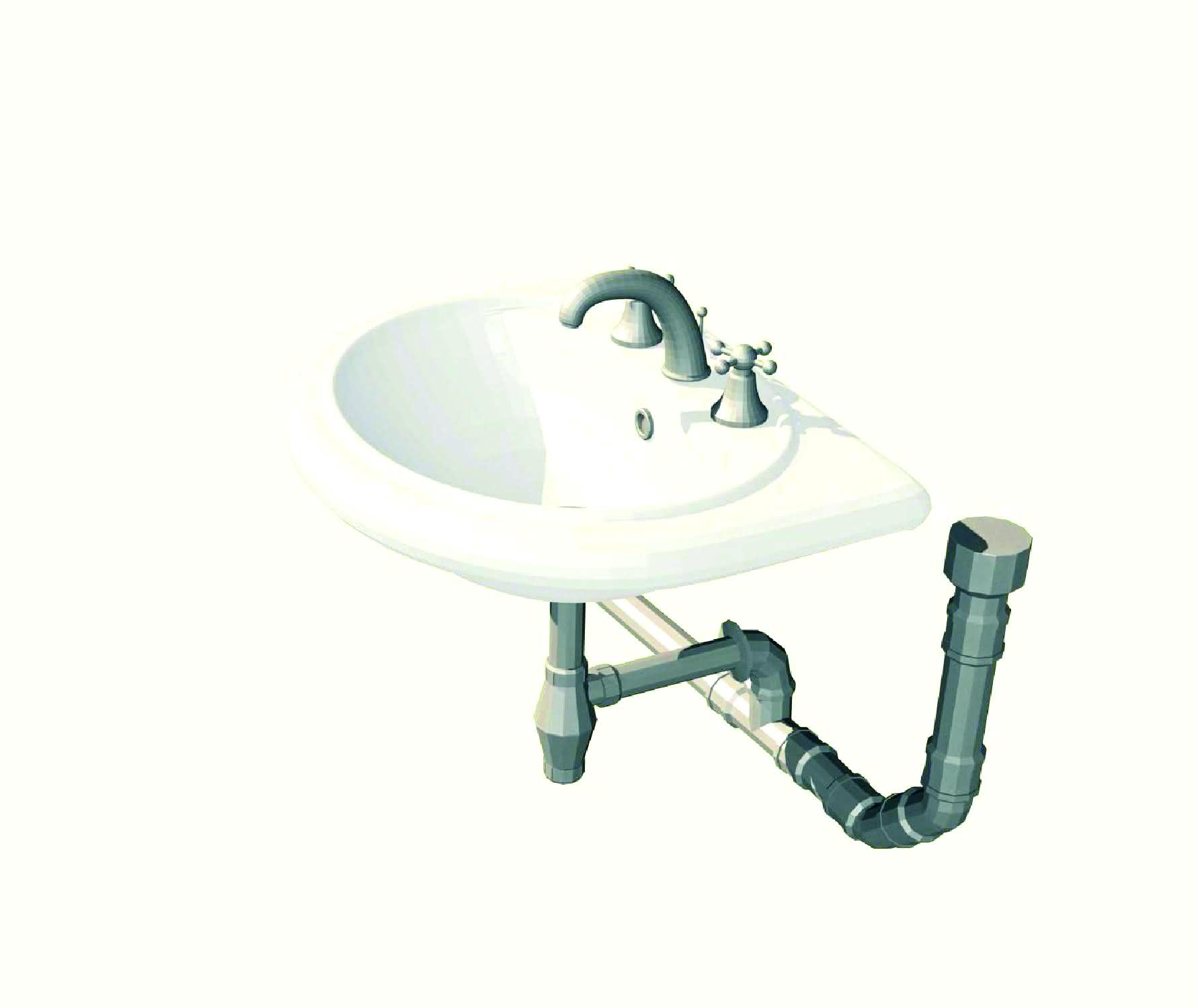 Jak podłączyć odpływ do umywalki w łazience