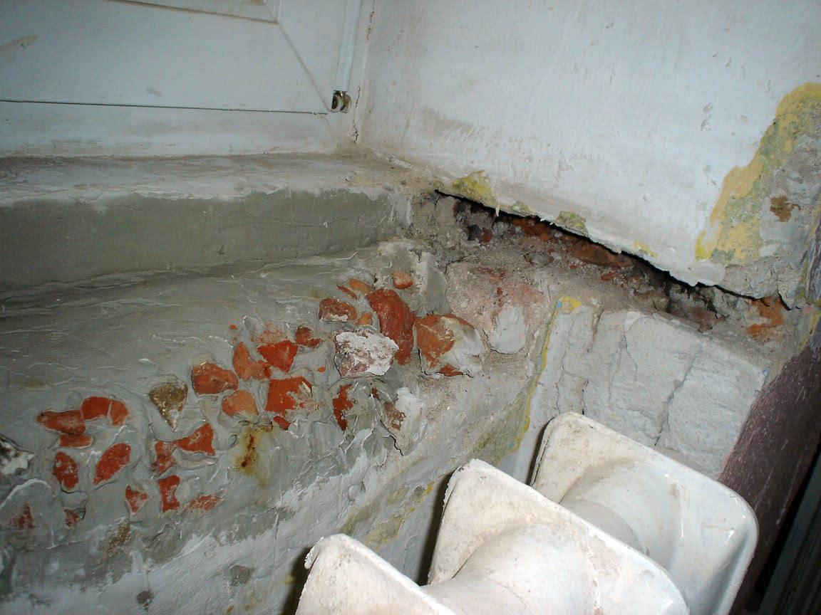 rekonstrukcja półki podparapetowej