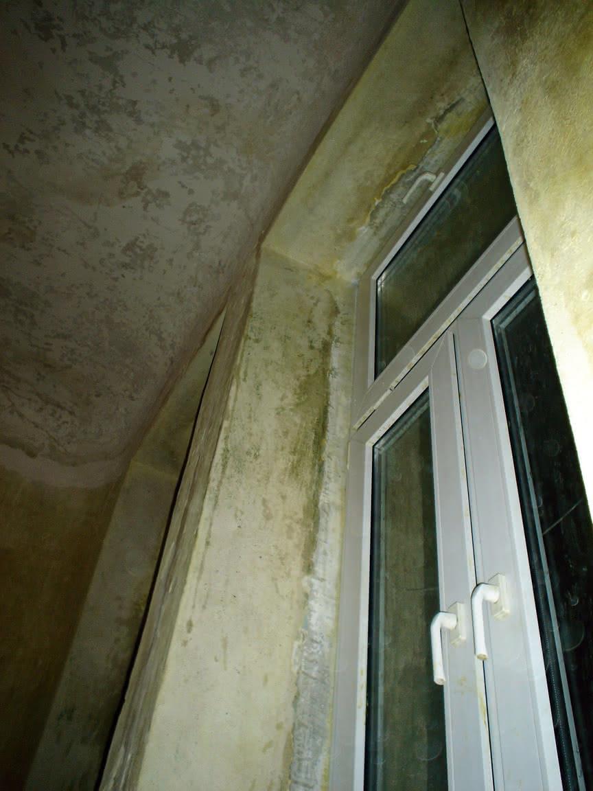 zmyte wokół okien..i okna też