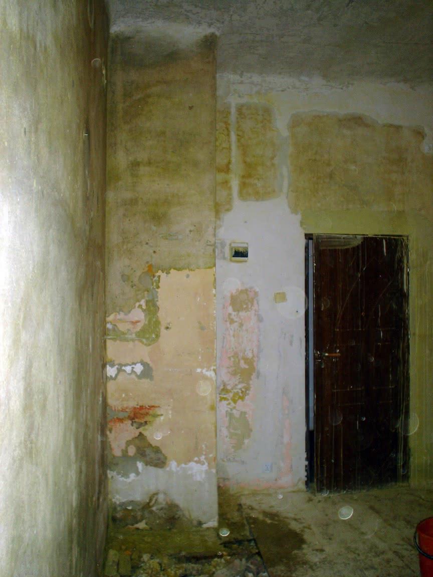 *zmyte ściany