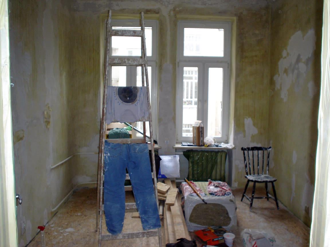 łatanie i wyrównywanie ścian