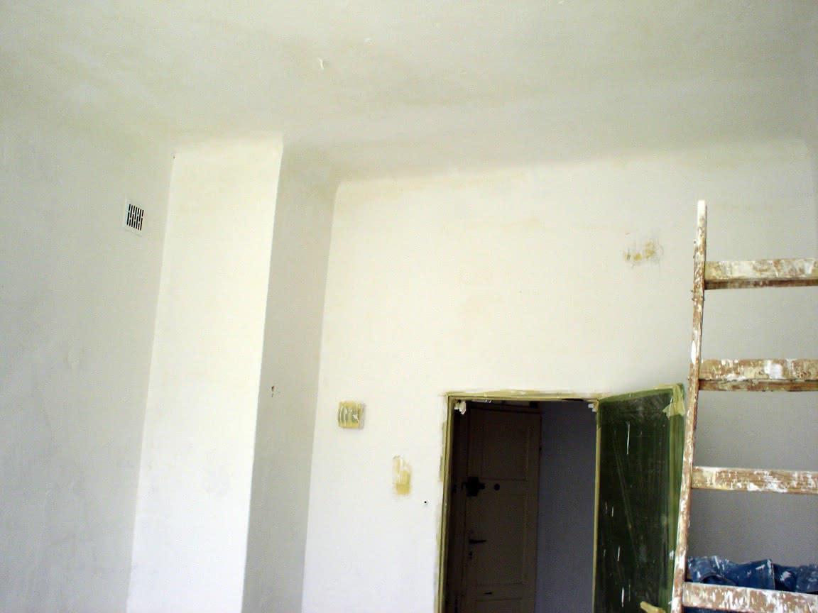 pokój po dwukrotnym malowaniu