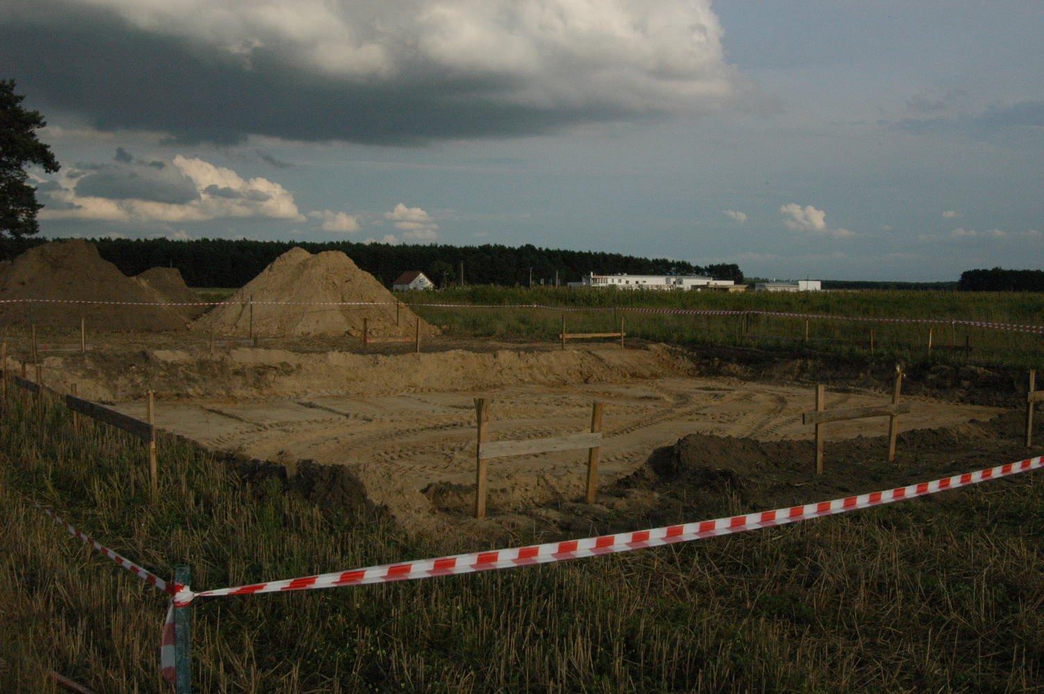 Rozpoczęcie budowy - 23-08-2008