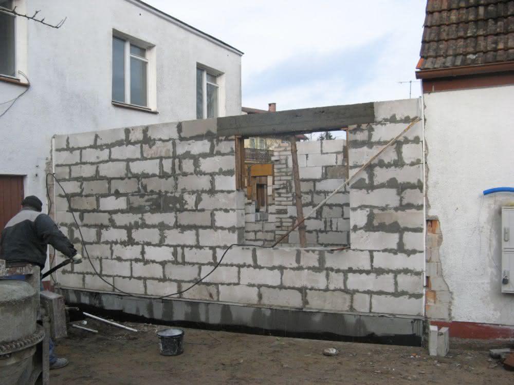 Rozbudowa domu, remont