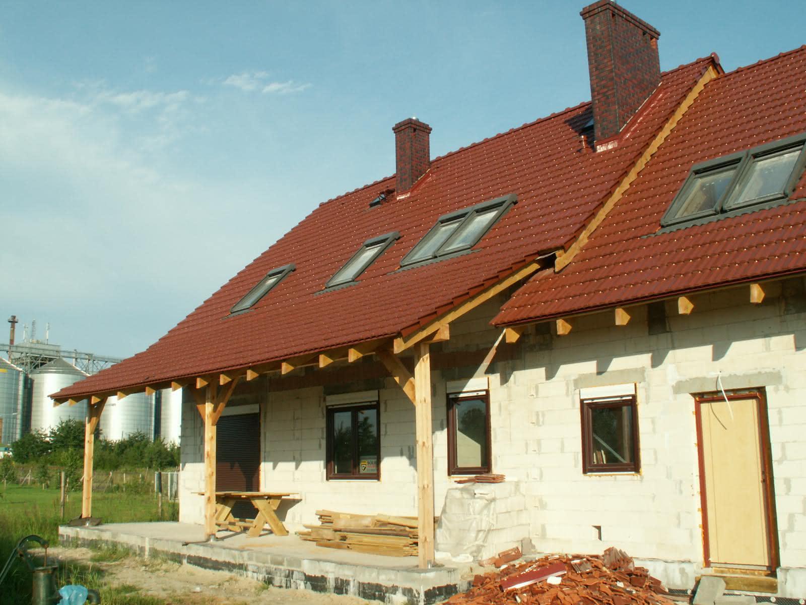 tył domu - część mieszkalna