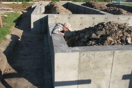 fundamenty gotowe