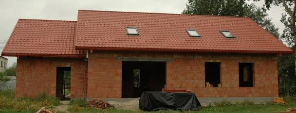 elewacja of ogrodu już z dachem