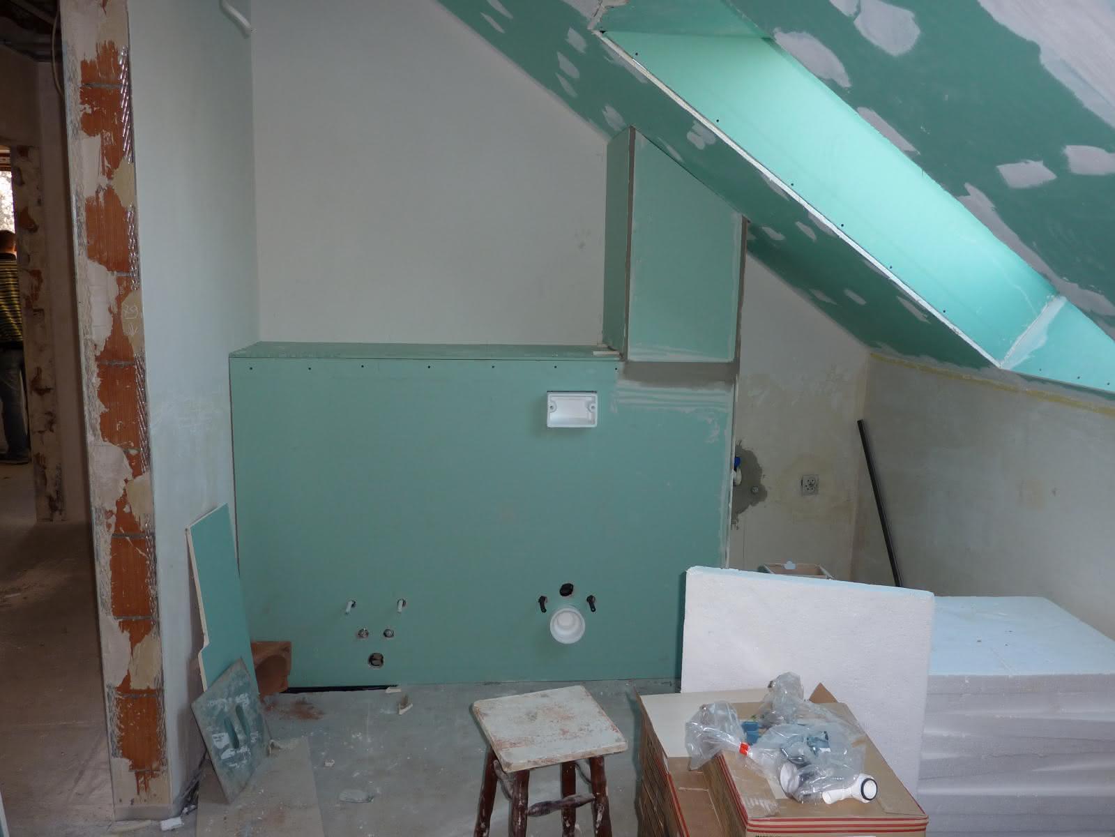 kawałek łazienki na górze