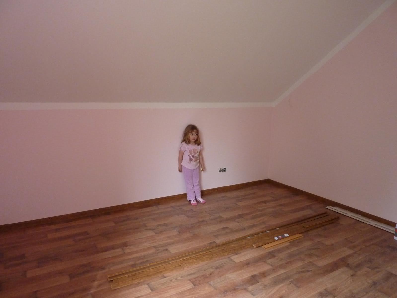Pokój mojej córci,  sama wybierała kolor