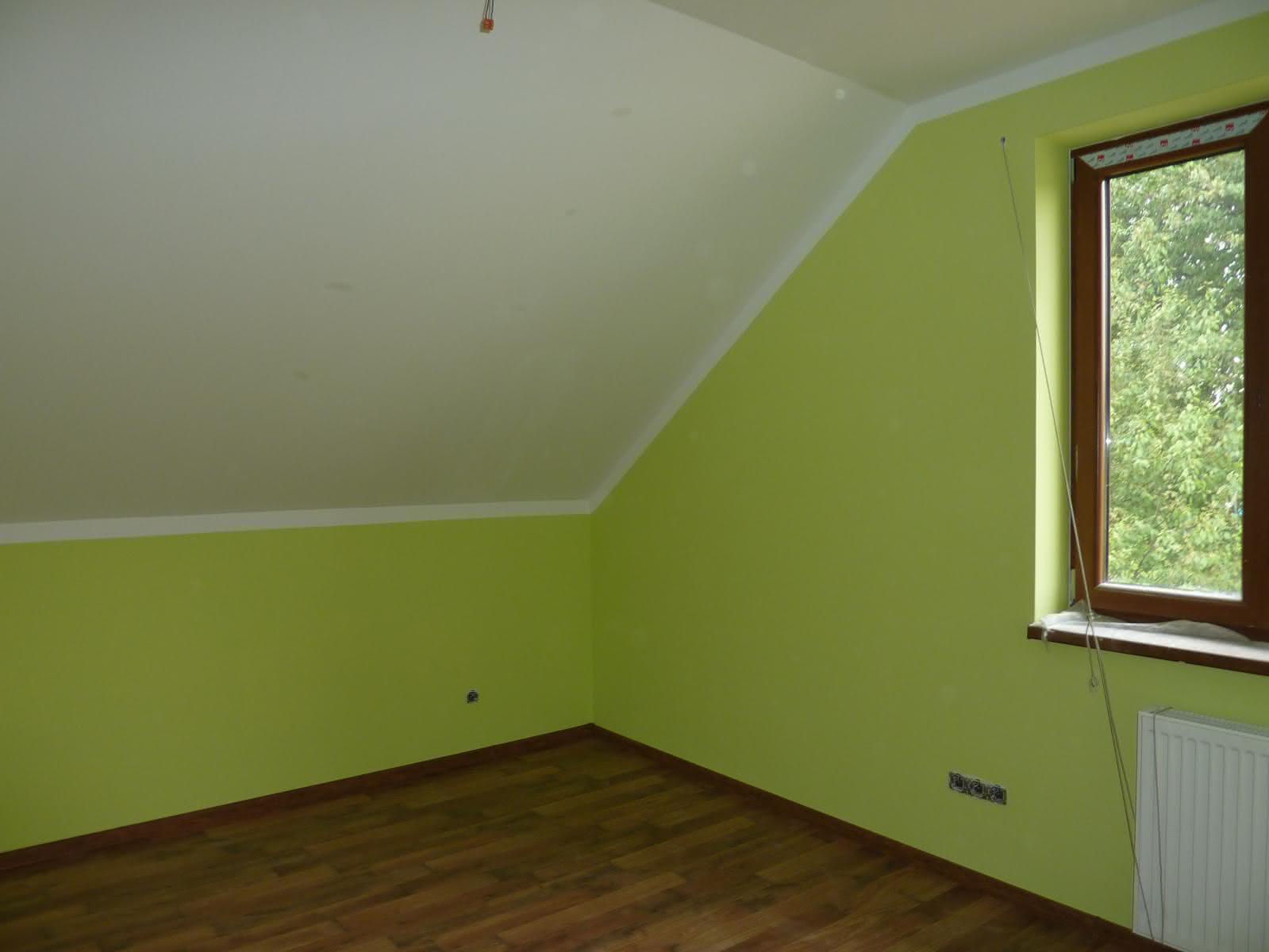 Do tego pokoju będę rzadko zaglądać kolor mnie poraża.