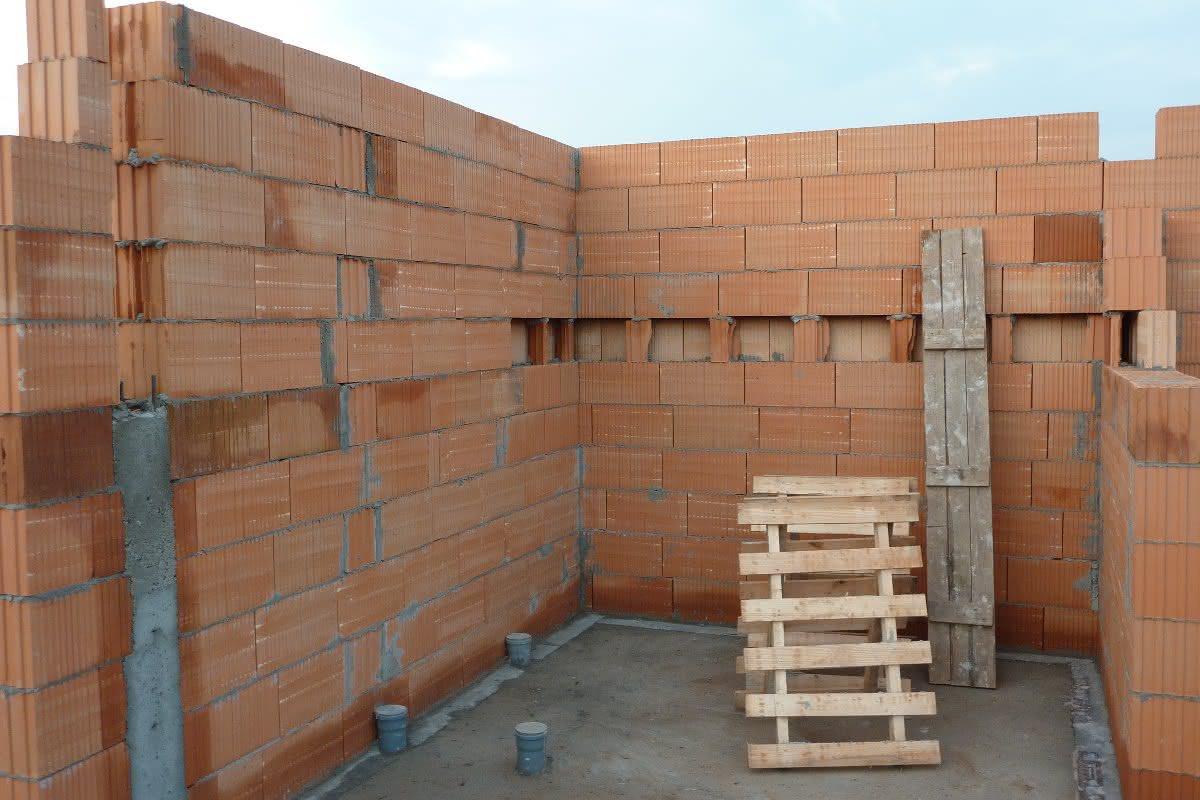 Ściany parteru