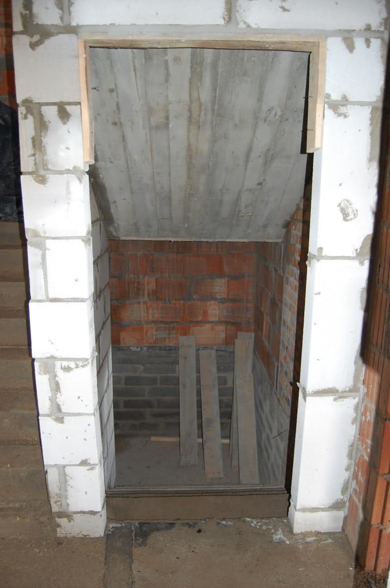 Zejście do piwnicy