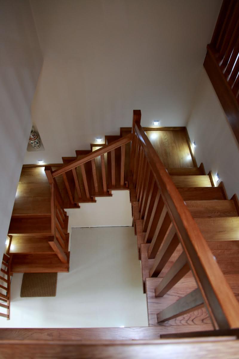 schody z góry