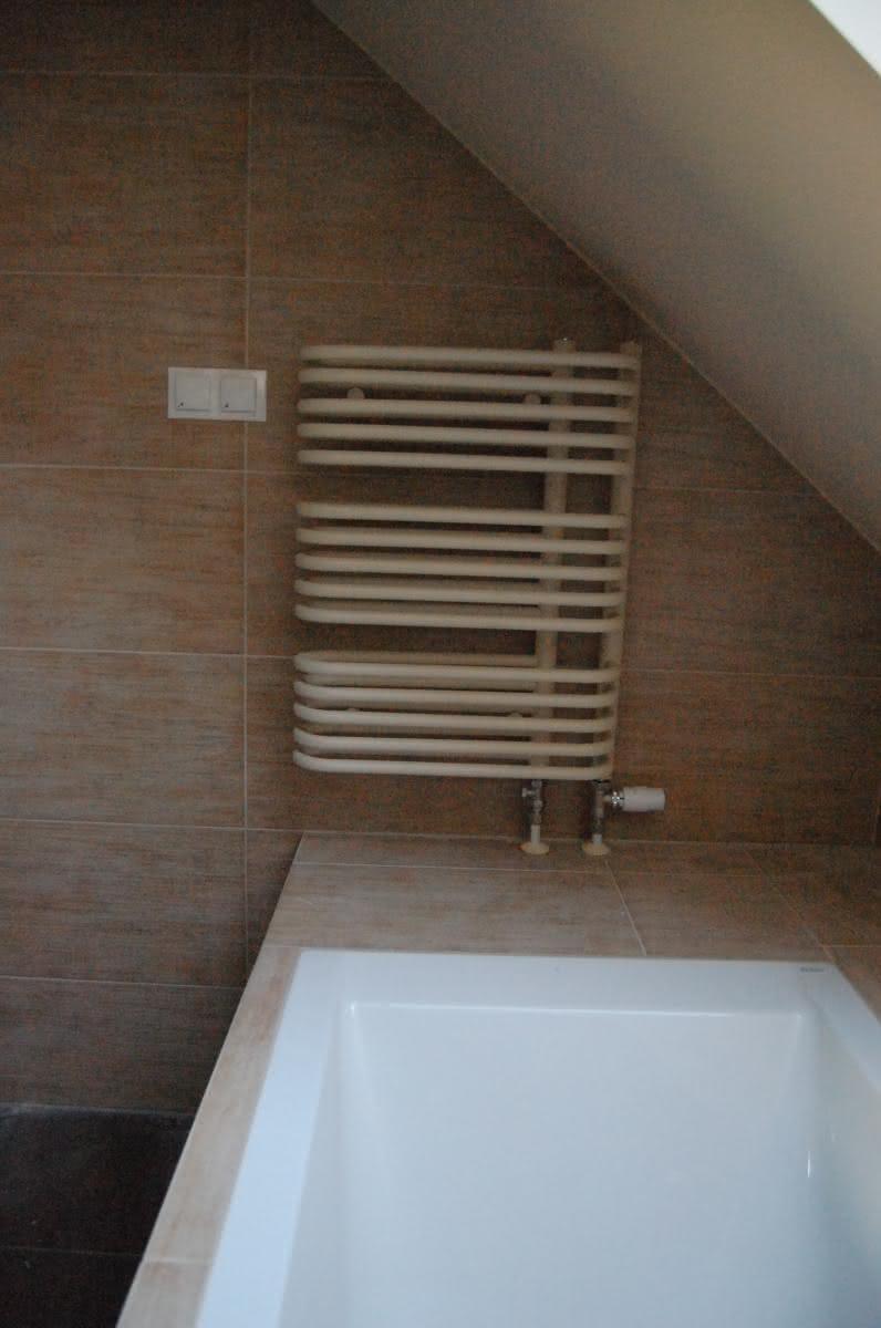 Grzejnik - główna łazienka