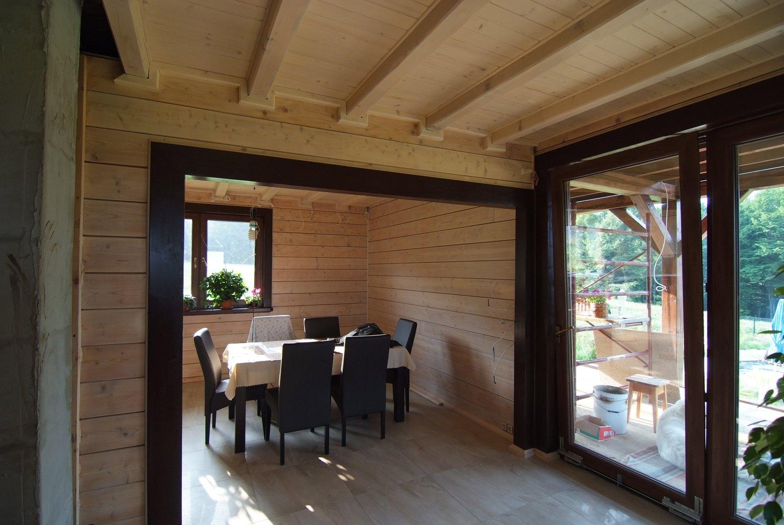 Dom drewniany o  U=0,14W/ (m2K)