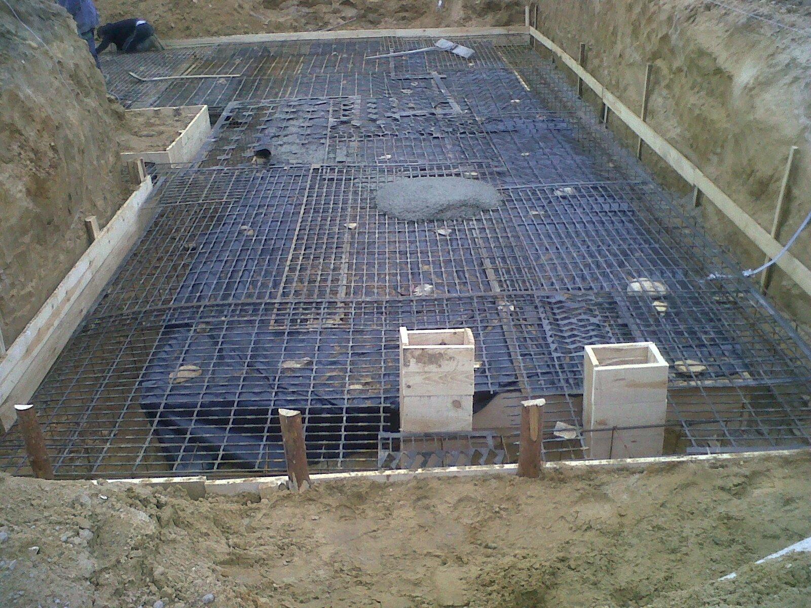 w trakcie budowy fundamentów i piwnic