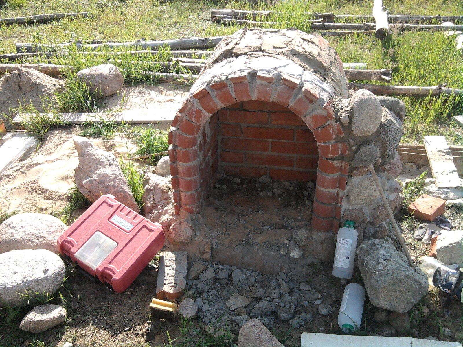 budowa grilla ogrodowego