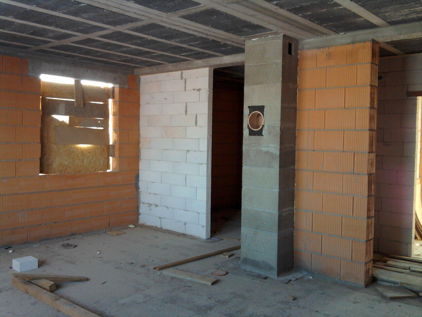 ścianka salon/kuchnia