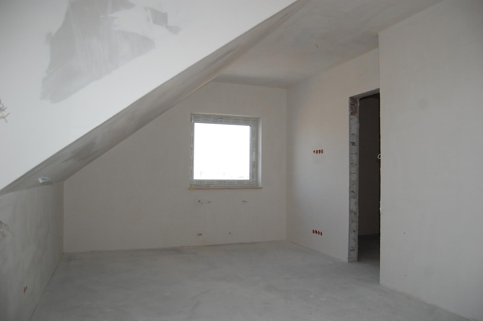 Sypialnia na górze z przejściem do garderoby