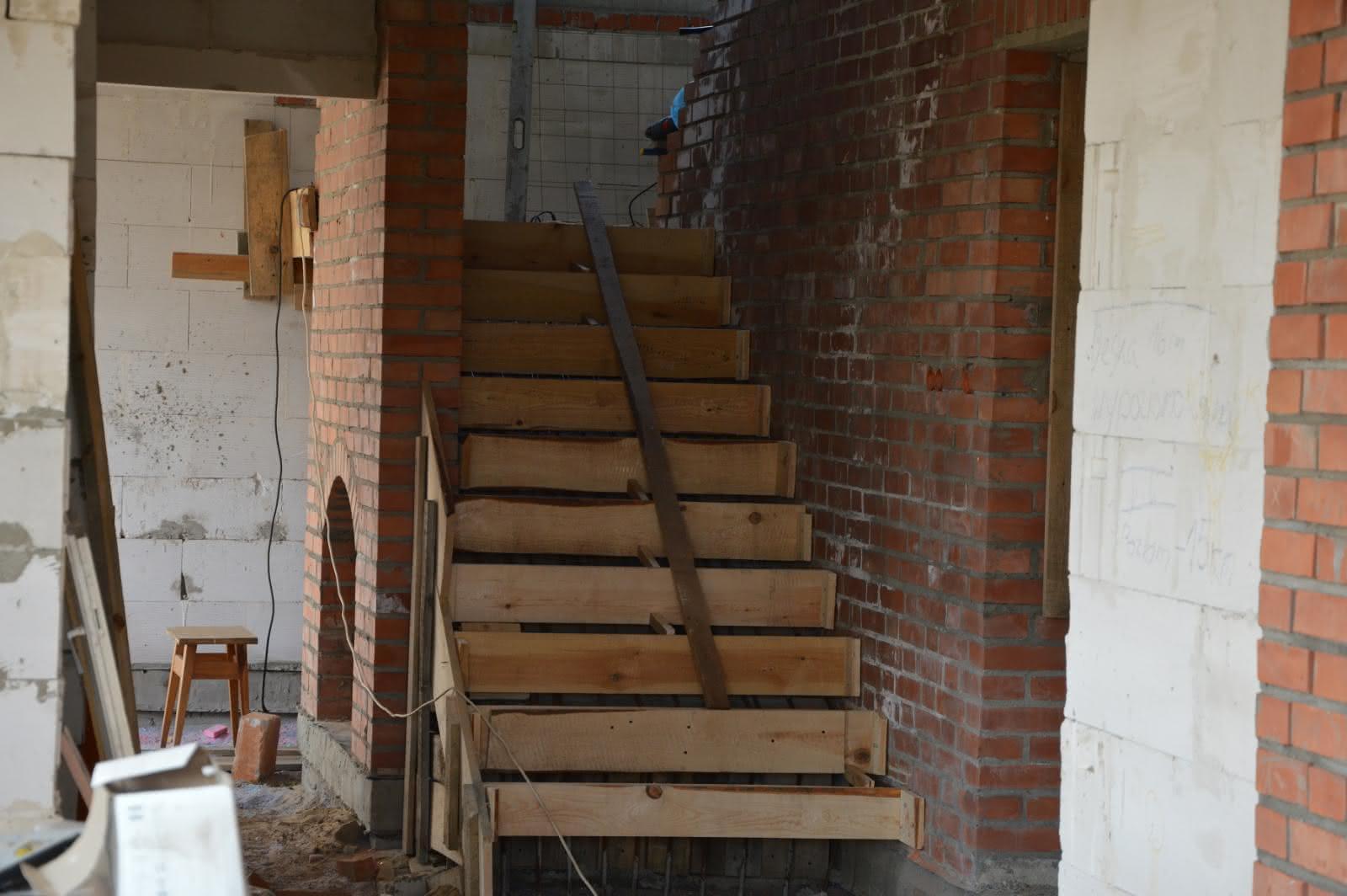 schody - szalowanie