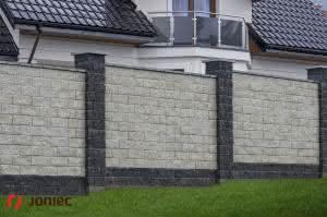 Ogrodzenia łupane GORC de Luxe